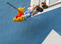 Winnie ve arkadaşları hamamdan sonra...